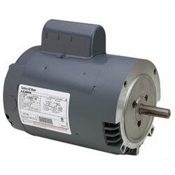 Capacitor Start Dripproof No Base Motor, 1 HP, 1725 RPM (208-230/115V) Product Image
