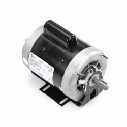 "6-1/2"" Cap. Start Resilient Base Motor (3/4, 0.21 HP 208-230V, 1725/1140 RPM) Product Image"