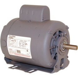 """6-1/2"""" Capacitor Start Motor (208-230/115V, 1725 RPM, 1 HP) Product Image"""