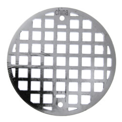 "4-1/4"" Black Stamped Strainer"