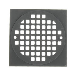 "4-1/4"" Square Cast Brass Strainer<br>(Old World Bronze) Product Image"