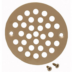"4-1/4"" Stamped Strainer (Pearl Nickel) Product Image"