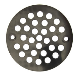"4-1/4"" Stamped Strainer (Oil Rubbed Bronze) Product Image"