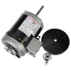 "6-1/2"" Outdoor Condenser Fan Motor (208-230/460V, 1100 RPM, 3/4 SPL HP) Product Image"