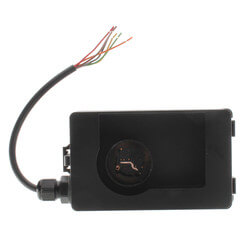 Carbon Dioxide Sensor<br>w/ LCD Display with Logo (NDIR, Duct Mount) Product Image