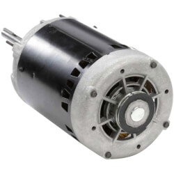 "6-1/2"" Single Phase Stock Motor (115/208-230V, 850 RPM, 1/2 HP) Product Image"