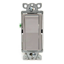 Claro Single Pole General Purpose Switch (Grey)