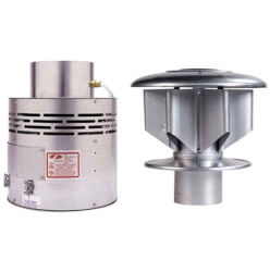 """Fan In A Drum<br>w/ 12"""" StarKap<br>(up to 1,800,000 BTU) Product Image"""