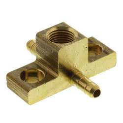 "Permanent Adapter For 1/4"" Barbed Fitting w/ 1/8"" Female Threads Product Image"