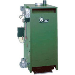 CGS-A 107,000 BTU Output, Spark Ignition Cast Iron Steam Boiler (Nat Gas)