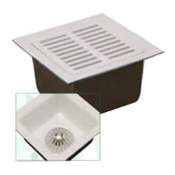 "4"" No-Hub Floor Sink (12"" x 12"" x 6"")"