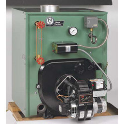 CL3-140 89,000 BTU Output, Cast Iron Steam Boiler (Packaged)
