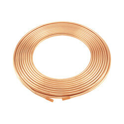 "1/2"" x 60' Type K Copper Tubing Coil Product Image"