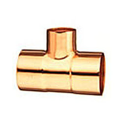 "3/8"" OD CxCxC Tee For HVAC Product Image"