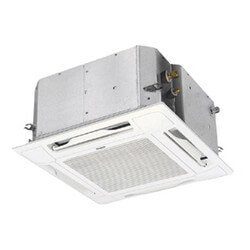 9,000 BTU Ceiling Recessed Mini-Split Multi Heat Pump & Cooling - Indoor Unit