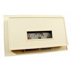Dual-Setpoint Day/Night Horizontal °F Thermostat w/ Terminals (55° to 85°F) Product Image