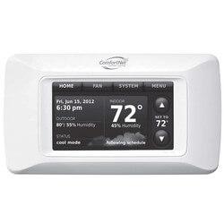 ComfortNet CTK04 Communicating 7-Day Programmable Thermostat Product Image