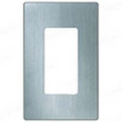 Claro 1-Gang Stainless Steel Wallplate