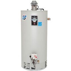 40 Gallon - 38,000 BTU Defender Safety System Damper Atmospheric Vent High EF Energy Saver Residential Water Heater (Nat Gas)