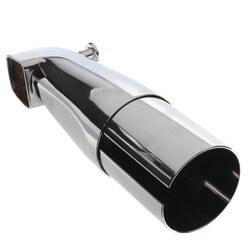 "8-1/4"" Two Piece Zamak Diverter Spout<br>(Nose Connector) Product Image"