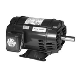 3-Phase General Purpose Motor, 56H (208-230/460V, 1 HP 1800 RPM) Product Image