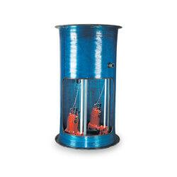 """2 HP 1-Stage Grinder Pkg. 208-230V 36"""" x 96"""" Basin<br>24"""" Discharge Depth Product Image"""
