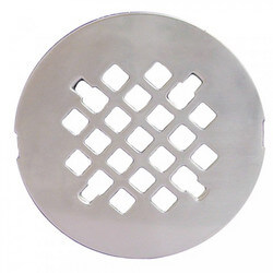 "4-1/4"" Snap-In Strainer (Chrome Plated) Product Image"