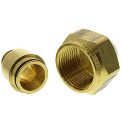 "3/4"" MultiCor Fitting Assembly, R25 thread, (Not for TruFlow manifolds)"