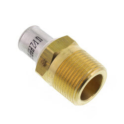 "1/2"" PEX-AL-PEX x 3/4"" Male Adapter Product Image"