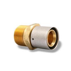 "5/8"" PEX-AL-PEX x 3/4"" Male Adapter Product Image"