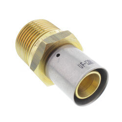"3/4"" PEX-AL-PEX x 1"" <br>Male Adapter Product Image"