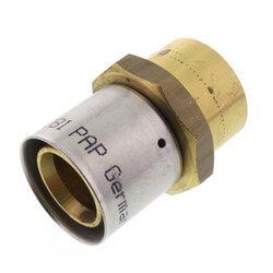 "1"" PEX-AL-PEX x <br>Female Adapter Product Image"