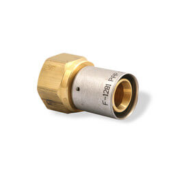 "1/2"" PEX-AL-PEX x 3/4"" Female Adapter Product Image"