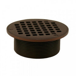 "5"" Round Strainer<br>w/ 3-1/2"" Metal Spud<br>(Oil Rubbed Bronze) Product Image"