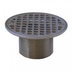 "4-1/4"" Round Strainer<br>w/ 2"" Metal Spud<br>(Pearl Nickel) Product Image"
