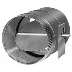 "16"" Single Blade Round Damper"