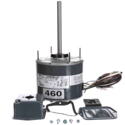 """5-5/8"""" 1-Speed 1075 RPM 1/4 HP CW Motor (460V) Product Image"""