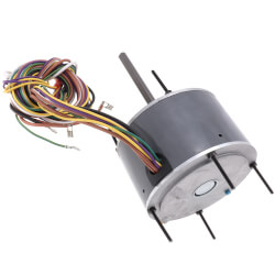 D917 1 Speed 1075 RPM Condenser Fan Motor<br>1/6 HP (208-230V) Product Image