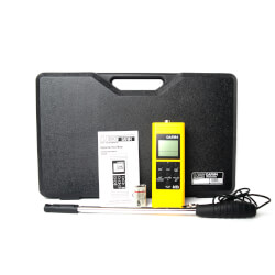 DAFM4, Digital Airflow with Humidity Tester Product Image
