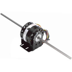 "5"" 4-Speed Double Shaft Fan/Blower Motor (115V, 1050 RPM) Product Image"