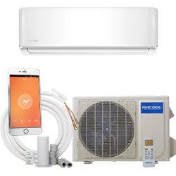 24,000 BTU Heat Pump & Wall Mount Air Handler w/ WIFI 16 SEER (230V) Product Image