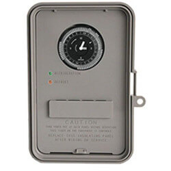 Auto-Voltage Defrost Timer, 2 HP NEMA-3R (120-240V) Product Image