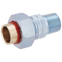 "1/2"" Male x Sweat Dielectric Union, Lead Free"