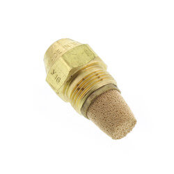 Type B Solid 60° Steel Oil Nozzle (0.75 GPH)