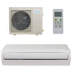 9,000 BTU D-Series Single Zone Ductless Mini-Split AC/Heat Pump Package Product Image