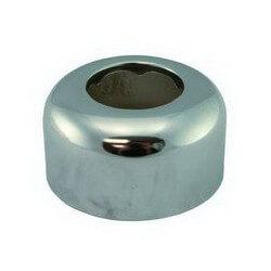 "1-1/2"" Box Pattern Tubular Escutcheon, 3"" OD, Box of 5 (Chrome) Product Image"