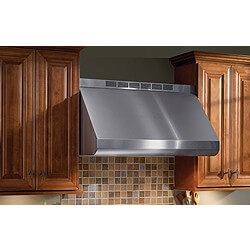 "30"" Pro-Style Wall-Mount Canopy Range Hood (SS) Product Image"