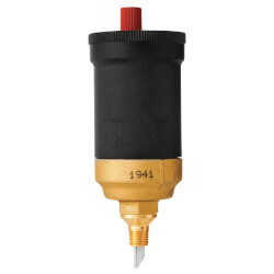 Automatic Air Vent<br>w/ Shut Off Valve, O-ring<br>& EPDM Seat Disc Product Image