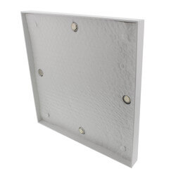 "8"" x 8"" Insulated Magnetic Cover for Aluminum Registers & Vents"