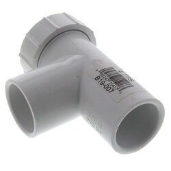 "3/4"" A/C Easy Tee, w/ Service Port Product Image"